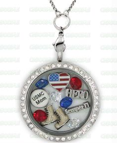 Marine Corp Locket Buying The Origami Owl Charms For