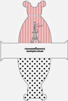 15 Años París: Cajas para Imprimir Gratis.  | Ideas y material gratis para fiestas y celebraciones Oh My Fiesta!