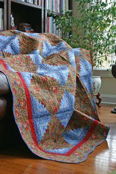 Blog brown quilt wide
