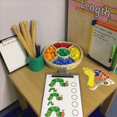 Measuring length - the very hungry caterpillar