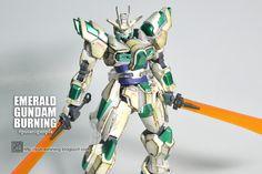 HGBF 1/144 TRY BURNING GUNDAM Custom Build by Putra Shining