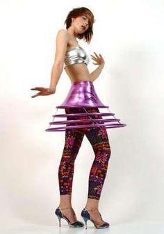63 Futuristic Fashions, this skirt!