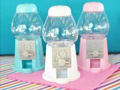 ♥ Mini Gumball Machine Placecard Holders