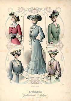 [De Gracieuse] Najaars-tailles en Bolero's (October 1901)