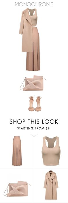 """""""One Color, Head to Toe"""" by bonolon on Polyvore featuring Cushnie Et Ochs, WithChic, Stuart Weitzman and monochrome"""