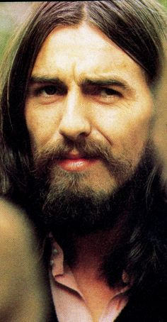 "George Harrison allá por 1970, probablemente poco después de ""Let it be...."
