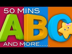 ABC Song | ABC Songs and More Nursery Rhymes! | 51 Minutes! | 3D Animations in HD from LittleBabyBum - YouTube