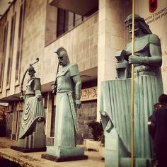 We are warriors!!! Good looking ones