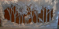 Hello, and thanks for your interest in my moose and pine tree metal artwork. The dimensions for the listed idem is 20 tall by 48 wide. This metal artwork is made by hand with a polished aluminum front and patina steel back to make this one of a kind double layered piece Price 385.00  Bear Mountain Metal Art is based out of Fort Collins Colorado and operated by artist Bobby Singleton. Artwork is made by drawing the design out on a sheet of cold rolled steel and using a hand held plasma cutter…