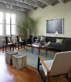 #wohnzimmer Wohnzimmer Farbgestaltung U2013 28 Ideen In Grün #Wohnzimmer  #Farbgestaltung #u2013 #