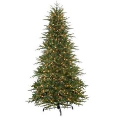 National Tree Co. Northern Frasier 7.5' Green Artificial Christmas Tree with 750 Clear Lights