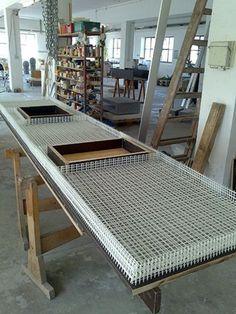 Diy Concrete Countertops, Concrete Sink, Concrete Kitchen, Concrete Furniture, Concrete Table, Furniture Design, White Countertops, White Concrete, Beton Design