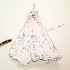 Oscar de la Renta Couture Bridal by Jeanette Getrost