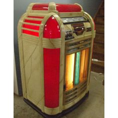 The bowling Alley we went to used to have one of these!  Classic 1941 Seeburg Jukebox