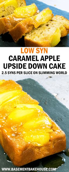 This LOW SYN CARAMEL APPLE UPSIDE DOWN CAKE is the ultimate Slimming World pudding recipe! With sticky caramel it's only syns per slice. astuce recette minceur girl world world recipes world snacks Slimming World Puddings, Slimming World Cake, Slimming World Desserts, Slimming World Recipes Syn Free, Pudding Recipes, Cake Recipes, Gateaux Cake, Cooking Recipes, Healthy Recipes