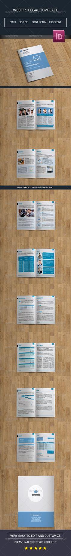 Company Proposal Template Proposal templates, Branding design - web design proposal template