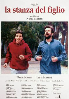 """La stanza del figlio [The Son's Room] - Nanni Moretti 2001 - DVD00458 -- """"A family struggles to go on after a devastating loss. Giovanni, a psychiatrist with a successful practice, has a warm relationship with his wife, Paola. Together, they have a daughter, Irene and a son, Andrea. The family's calm is shattered when Andrea is unexpectedly killed in an accident."""""""