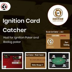 Ignition Card Catcher lets you track both tricky and passive players efficiently, allowing you to maximize your EV per hand. Learn more about it (and get your hands on the free trial) here: Poker Hands, Online Poker, Online Support, Catcher, The Dreamers, Sao Anime, Software, Track, Let It Be