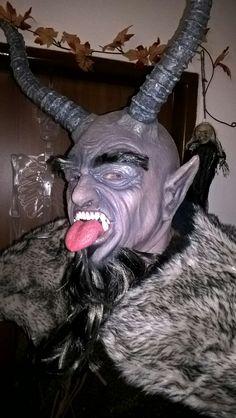 Maska čerta na zakázku  Devil mask custom made