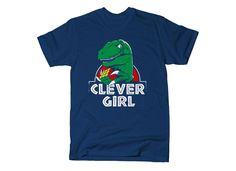 https://www.snorgtees.com/t-shirts/geek-nerd/clever-girl