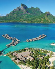 Ah, the over the water bungalows at the Four Seasons Bora Bora.  Want.