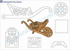 fun & easy scroll saw projects Cardboard Crafts, Wood Crafts, Diy And Crafts, Paper Crafts, Wood Projects, Woodworking Projects, Woodworking Patterns, 3d Puzzel, Wood Craft Patterns
