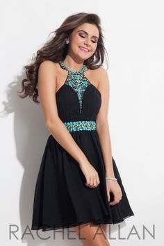 Chiffon babydoll with beaded neckline and ruched bodice. Order today by calling Everything for Pageants at 1-815-782-8877 and ask for our current promotions.