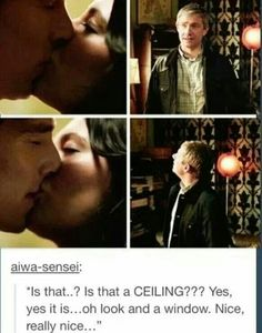And the moment when John's reaction is ours.