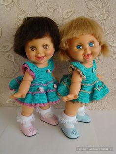 А я всё вяжу, вяжу ... наряды для кукол Gallob Baby Face / Одежда и обувь для кукол - своими руками / Бэйбики. Куклы фото. Одежда для кукол