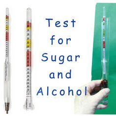 Test Sugar and Alcohol  levels of your Kombucha Tea, Ginger Beer & other Ferments.Can be used for Diabetic testing and other health concerns like water metabolism.