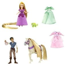 Disney Tangled Rapunzel Deluxe Story Bag - check out more closely...?