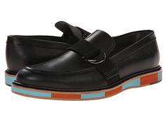 Viktor & Rolf Buckle Leather Loafer