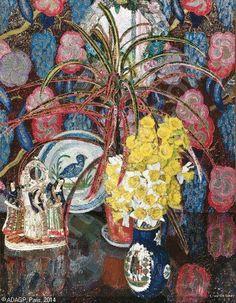 Nature morte, 1925 | Léon de Smet (1881~1966) | ART INCONNU