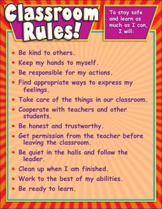 respect acronym classroom rules - Google Search