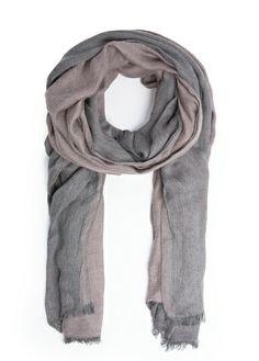 Bicolor foulard