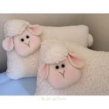 Resultado de imagen de almofada ovelha tecido