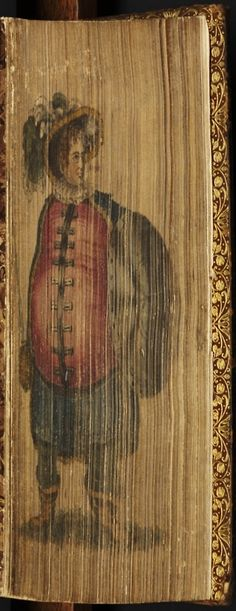 """~ English """"Victorian"""" Fore-Edge Painting ~ Water Color Painting On The Page Edges (Fore-Edge) Of A Book Vintage Book Covers, Vintage Books, Old Books, Antique Books, Book Libros, Beautiful Book Covers, World Of Books, Handmade Books, Painting Edges"""