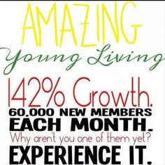 Young Living is growing at an amazing rate!! Join our team and help others!! newhopewellness.org