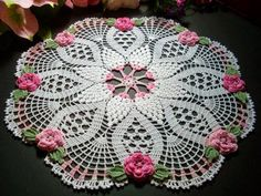 FREE DIAGRAMS ~ Crochet: Doilies