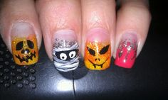 My Halloween nails