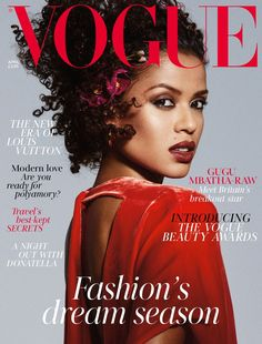 Gugu Mbatha-Raw Covers April Vogue