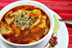 Mexico in my Kitchen: How to make Mexican Menudo Soup Recipe/ Como hacer Menudo, Pancita o Mondongo.