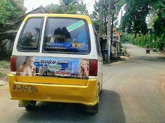 Sticker Angkot