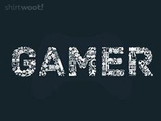 Gamer Tee by Shirt.Woot.com