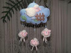 Куколки и поделки из фетра Marli de Oliveira, Бразилия