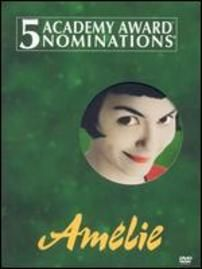 Amelie, an innocent and naive girl in Paris, with her own sense of justice, decides to help those around her and along the way, discovers love.  Director: Jean-Pierre Jeunet Writers: Guillaume Laurant (scenario), Jean-Pierre Jeunet Stars: Audrey Tautou, Mathieu Kassovitz, Rufus  http://www.imdb.com/title/tt0211915/?ref_=sr_1