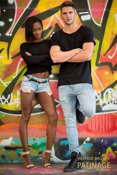 Vanessa James & Morgan Ciprès Black And White Couples, Black Woman White Man, Black Love, Beautiful Love, Cute Love, Beautiful Couple, Mixed Couples, Cute Couples, Vanessa James Morgan Cipres
