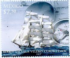 Buque escuela Cuauhtemoc, de México, 2008