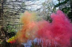 Surreales fotos de humo de colores tomadas por Irby Place - Antidepresivo : Antidepresivo