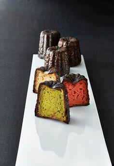 フォションから色鮮やかなクリスマス向けカヌレ登場 - サンタハット形のケーキも